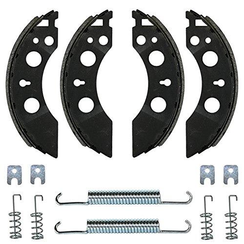 meinAnhängerersatzteil Bremsbacken Set für ALKO Radbremse 2050 & 2051 200x50mm Bremsbeläge