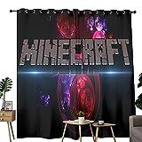 Raumteiler, vollständig bedeckend, Raumteiler, Motiv: Minecraft-Spiele, Poster, modische Illustration, 182,9 x 243,8 cm