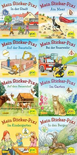 Pixi-Serie Nr. 199: Meine Sticker-Pixis: 8 x 8 Stück (Pixi-Box, Band 199)