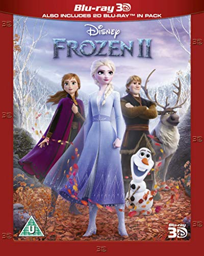 Frozen 2 3D [Blu-ray] [2019] [Region Free]