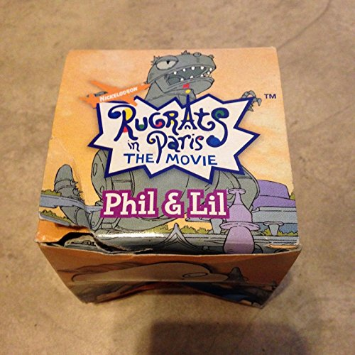 RUGRATS in PARIS Phil & Lil CHATBACK Talking LCD Watch Vintage