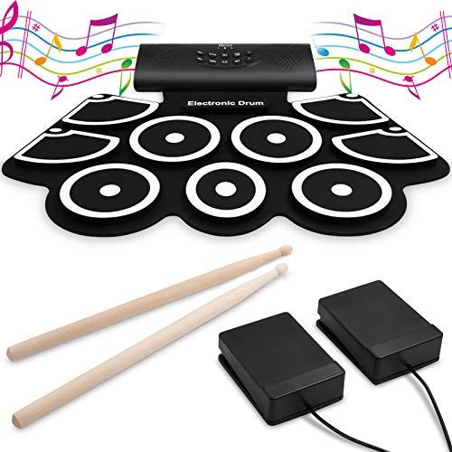 9 Pads Electronic Drum Set