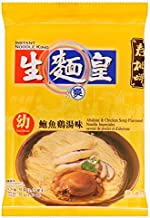Noodle King, Instant Thin Noodle, Abalone & Chicken Soup Flavour, 70 g [Pack of 3 pieces]