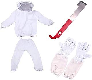 Nicetruc Imker-Anzug mit Fechten Schleier, Bienenzucht Kleidung, Bienen Beweis Kleidung, Anti-Biene Anzug für Imker