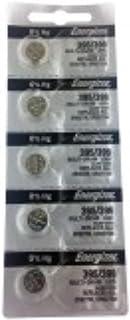 Energizer 395/399 Silver Oxide 5 Batteries (SR927W / SR927SW)