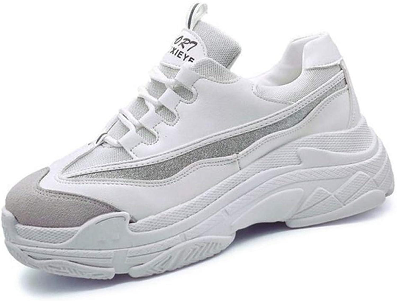 U-MAC Platform Wedge Sneakers for Girls Womens Winter Warm Loafer Vulcanized Flat High Heel Wear Resistant Canvas shoes