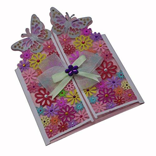 Flower Die Cut,iHPH7 Hearts Metal Cutting Dies Stencils DIY Scrapbooking Album Paper Card Making 792