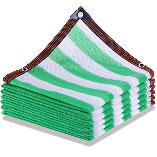 YCSD Malla Sombreadora Sun Net Resistente A Los Rayos UV,Tasa De Sombra 90% -95%,Malla De Ocultación De Enfriamiento del Techo,Red De Sombreado para Invernadero/Patio(Size:5x10m)