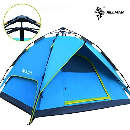 Uitstapje Udstyr, Tent 2 Persoon Dubbele Laag Regendicht Muggennet Camping Tent Beach Tent Barraca Groothandel en Winkel, Kejing Miao Blauw