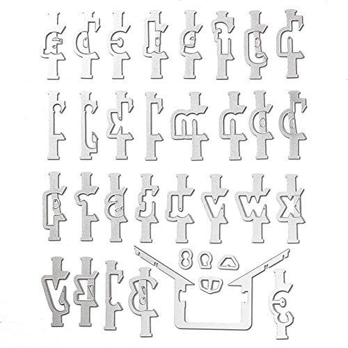 ZEH Scrapbooking Cutting Die, Metal DIY Scrapbook Symbol Símbolo Mallas de Corte de Metal para Bricolaje Scrapbooking Stencil Die Cuts Die Die FACAI