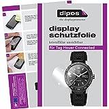 dipos I 6X Schutzfolie klar kompatibel mit Tag Heuer Connected Folie Bildschirmschutzfolie