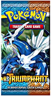 Pokemon Card Game Triumphant (HS4) Booster Pack [Toy]