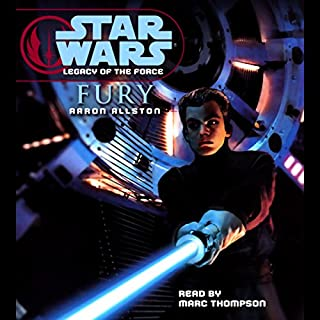 Star Wars: Legacy of the Force #7: Fury audiobook cover art