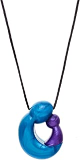 Gumigem Nurture Pendant Teething Necklace By - Silicone Teething Necklace (Eternal)