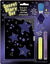 Tobar Hemligt dagboksset med osynlig bläckpenna och UV-fackla