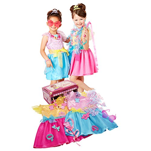 Fancy Nancy Ultimate Dress-Up Trunk, 13-Pieces, Fits Sizes 4-6X [Amazon Exclusive]