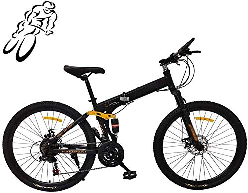 Bicicleta plegable plegable bicicleta de montaña suspensión completa MTB plegable bicicletas outroad plegadas
