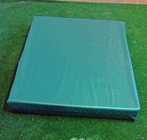 Kosipad Deluxe Waterproof Sun Lounger Mattress For Garden Beach (Extra Large, Green)