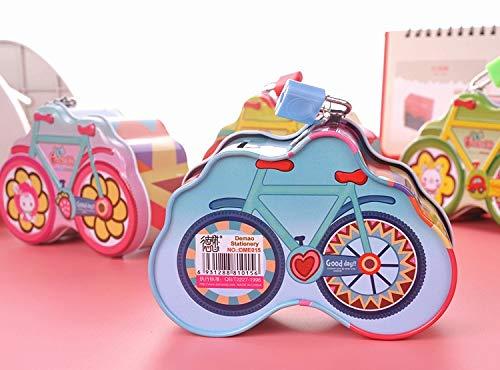 feiren 1 Hucha de metal para bicicleta, Hucha de metal, Hucha de Dinero, Caja de Ahorro de Dinero, Decoración del hogar, Figuras, Regalo para Niños