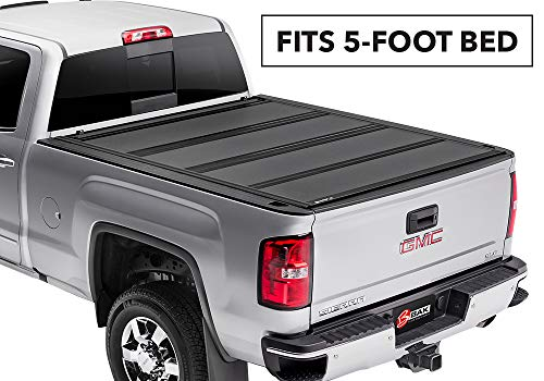 BAK BAKFlip MX4 Hard Folding Truck Bed Tonneau Cover | 448126 | Fits 2015-20 GM Colorado, Canyon 5' Bed