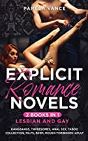 Explicit Romance Novels (2 Books in 1): Lesbian and Gay. Gangbangs, Threesomes, Anal Sex, Taboo Collection, MILFs, BDSM, Rough Forbidden Adult
