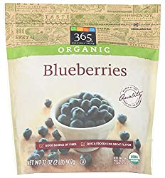 365 Everyday Value, Organic Blueberries, 32 oz, (Frozen)