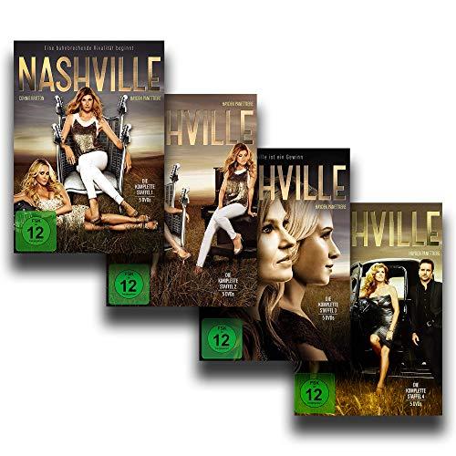 NASHVILLE – Die kompletten Staffeln 1 + 2 + 3 + 4 [20 DVD-Box-Set]
