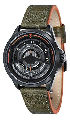 Hawker harrier orologio Uomo Analogico Automatico con cinturino in Pelle di vitello AV-4047-03