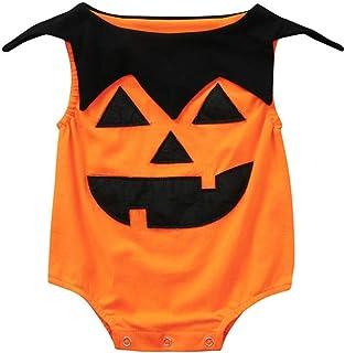 87d6e22e55cb4 MVPKK 🔥 Rompers Halloween Enfants Garçons Filles Citrouille Halloween  Costumes Combinaison Barboteuse Bébé Déguisement Enfant Combinaison