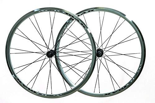 Aeromax 700c Road Comp Silver Road Bike Wheelset...