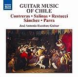 Musica Para Guitarra De Chile-J.A.Escoba