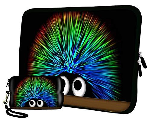 LUXBURG 10' Pulgadas Bolso con diseño, Funda en Neopreno para Ordenador Portátil Tablet. Además de la Bolsa de la cámara Gratis!