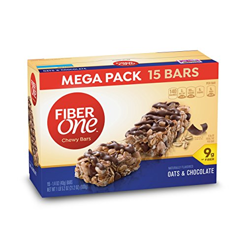 Fiber One Oats & Chocolate Chews Bars