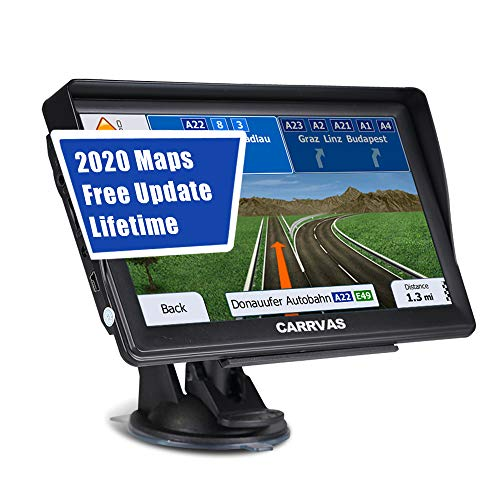 SAT NAV for Cars Trucks Lorry, 7 inch Pre-Installed 2020 Europe...