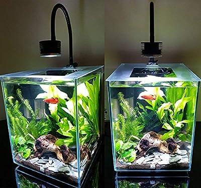 DOLIDO - Éclairage LED pour Aquarium - Nano - pour Aquarium d'eau salée - Corail