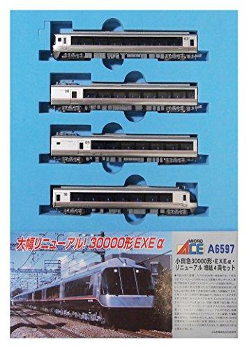 マイクロエース Nゲージ 小田急30000形 EXEα リニューアル 増結4両セット A6597 鉄道模型 電車