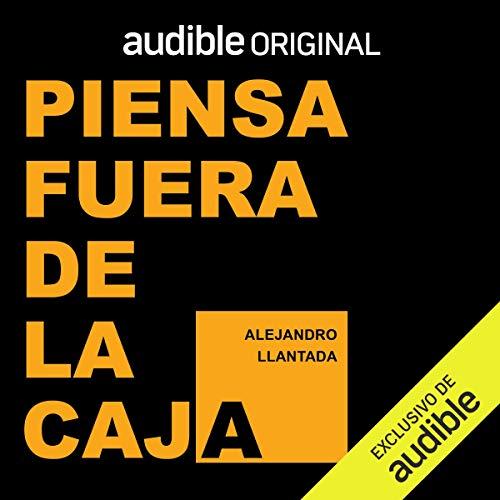 Diseño de la portada del título Piensa fuera de la caja (Narración en Castellano)