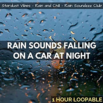 Rain Sounds Falling on a Car at Night: One Hour (Loopable)