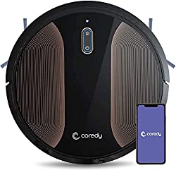 Coredy R580 Robot Vacuum Cleaner, Vacuuming, Sweeping and Mopping, Wi-Fi