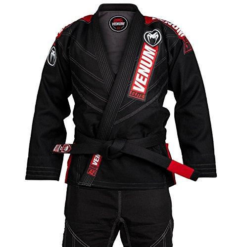 Venum Elite 2.0 BJJ, Kimono para Hombre, Negro, A1