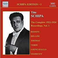 Tito Schipa Complete 1922-24 Reordings Vol.1