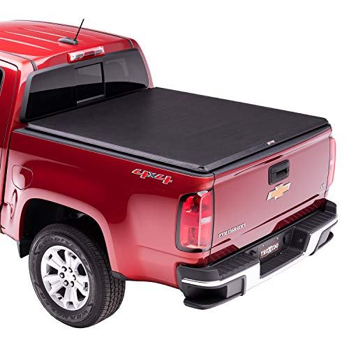 TruXedo TruXport Soft Roll Up Truck Bed Tonneau Cover | 239801 | fits 04-12 GMC Canyon & Chevrolet Colorado 5' bed