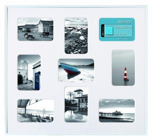 Bilderrahmen, Collage, Nielsen Pixel, Silber matt