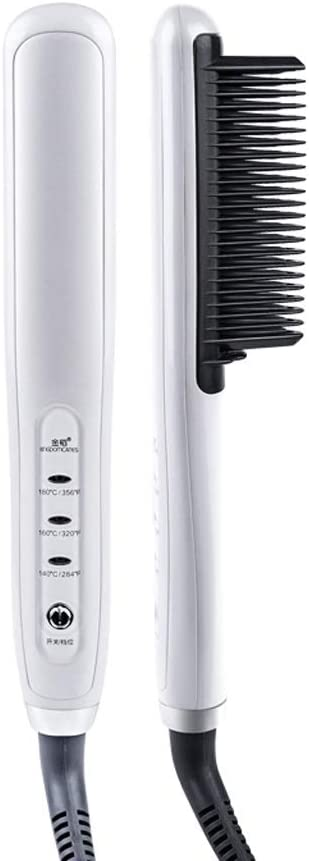 GYZX PTC We Animer and price revision OFFer at cheap prices Heating Electric Ceramic Hair Combs Brush Straightener