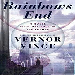 Rainbows End audiobook cover art
