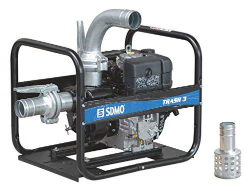 SDMO TR3–60H 4-Zoll Heavy Duty Trash Diesel Wasserpumpe