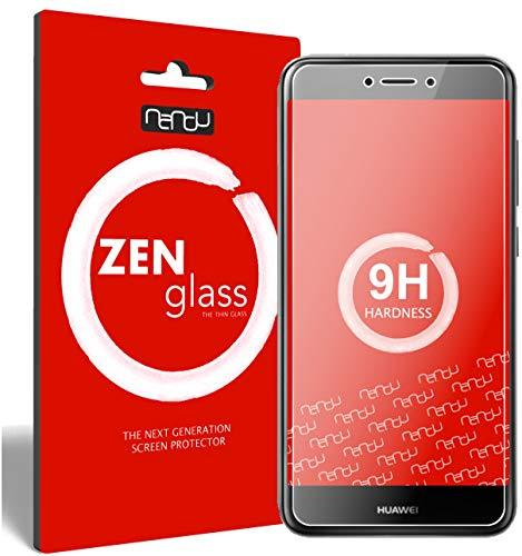 ZenGlass [2 Stück Flexible Glas-Folie kompatibel mit Huawei P9 Lite 2017 Panzerfolie I Bildschirm-Schutzfolie 9H I (Kleiner Als Das Gewölbte Bildschirm)