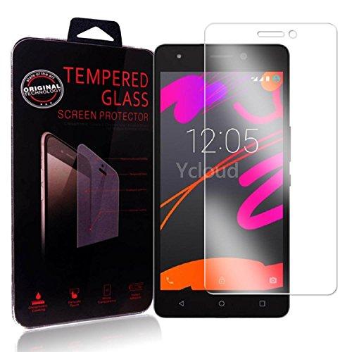 Ycloud Panzerglas Folie Schutzfolie Bildschirmschutzfolie für BQ Aquaris M5.5 screen protector mit Festigkeitgrad 9H, 0,26mm Ultra-Dünn, Abger&ete Kanten