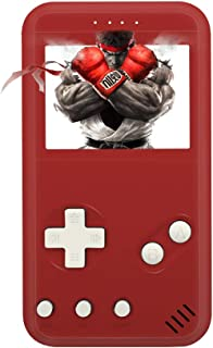xinguo Handheld Game Console, Portable Game Console 2.5 Inch Screen with 299 Classic Games, Retro Game Console Can Play on TV, Good Gifts for Children. (red)