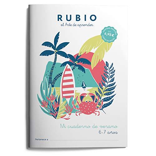 Mi cuaderno de verano RUBIO. 6-7 años: 4